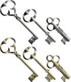 Sleutels Royalty-vrije Stock Afbeeldingen