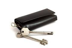 sleutels die op wit worden geïsoleerdn Royalty-vrije Stock Afbeeldingen
