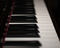 Sleutels tot de muziek Royalty-vrije Stock Afbeeldingen