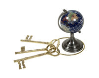 Sleutels tot de Wereld stock afbeelding