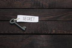 Sleutels tot Geheimen stock afbeeldingen