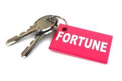 Sleutels tot uw Fortuin Royalty-vrije Stock Foto's