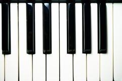 Sleutels van de piano Royalty-vrije Stock Foto