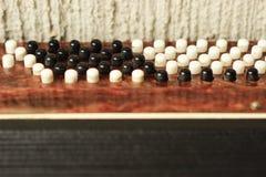 Sleutels van harmonika stock fotografie