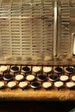 Sleutels van harmonika stock foto