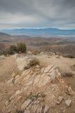 Sleutelsmening in Joshua Tree National Park Royalty-vrije Stock Foto's