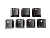 Sleutelwoord stock afbeelding