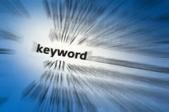 Sleutelwoord royalty-vrije stock afbeelding
