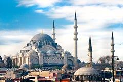 Süleymaniye Mosque , Istanbul, Turkey. Stock Photography