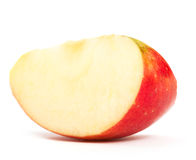 Slice of an apple Royalty Free Stock Photos