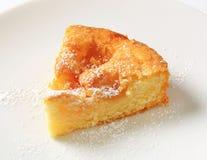 Slice of apple cake Royalty Free Stock Photo