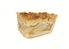 Slice of Apple Crumb Pie Stock Images