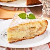 Slice of apple fruit pie Royalty Free Stock Photo