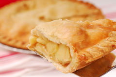 Slice of apple pie Stock Photography