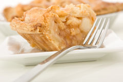 Slice of Apple Pie. Delicious slice of home made apple pie Royalty Free Stock Image