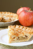 Slice of apple pie Royalty Free Stock Photos