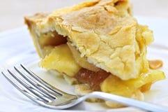 Slice of apple pie Stock Photography