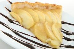 Slice of apple tart Royalty Free Stock Photo