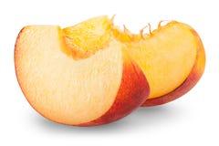 Slice apricots Stock Image