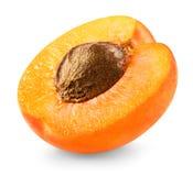 Slice apricots Stock Photography