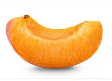 Slice apricots Stock Photos