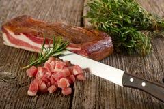 Slice bacon Stock Photography