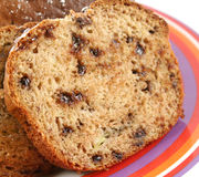 Slice Of Banana Cake Royalty Free Stock Photography