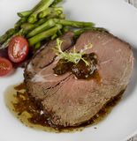 Slice Of Beef Roast Royalty Free Stock Photo