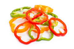 Slice Bell Pepper Royalty Free Stock Photos