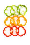 Slice Bell Pepper Royalty Free Stock Photo