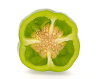 Slice bell pepper Stock Images