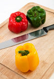 Slice Bell Peppers Royalty Free Stock Photos
