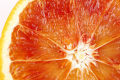 Slice of blood orange Royalty Free Stock Image