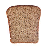 Slice of bread. On white background Stock Photography