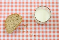 Slice of bread Royalty Free Stock Photography