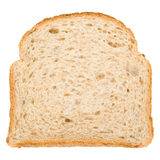 Slice of bread. Piece of bread on a white background royalty free stock photo