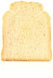 Slice bread. On white background Stock Photo
