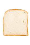 Slice of Bread. Isolated on white Stock Images