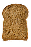 Slice of bread. Isolated on white background Royalty Free Stock Images