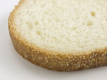 Slice of Bread angle close-up Stock Images