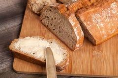 Slice of bread. Stock Photo