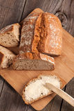 Slice of bread. Royalty Free Stock Images