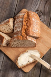 Slice of bread. Stock Image