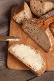 Slice of bread. Stock Images