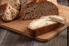 Slice of bread. Royalty Free Stock Photo