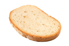 Slice of bread. Slice of fresh bread isolated on white background Stock Photo
