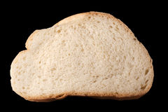 Slice of bread isolated Stock Image
