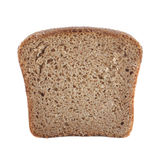 Slice of bread isolated Royalty Free Stock Images