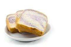 Slice bread isolated Stock Image