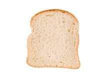 Slice of bread, isolated on white Stock Image